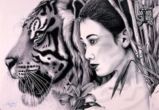 Lady-with-Tiger